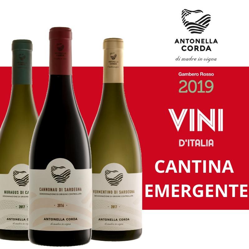 Cantina emergente Gambero Rosso 2019 - Antonella Corda