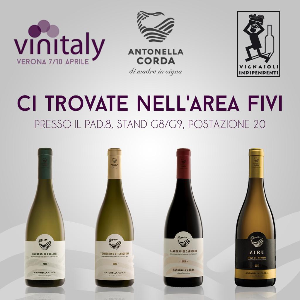 vINITALY 2019 - Antonella Corda